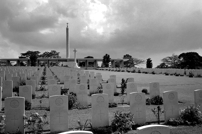 War Cemetery from East Wing I