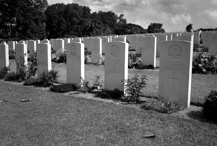 War Graves from East Wing I