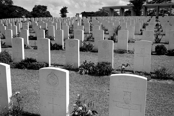 War Graves from East Wing II