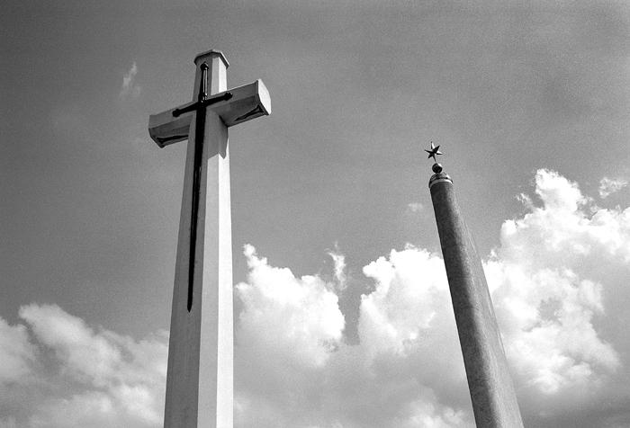 Cross of Sacrifice and Memorial Star