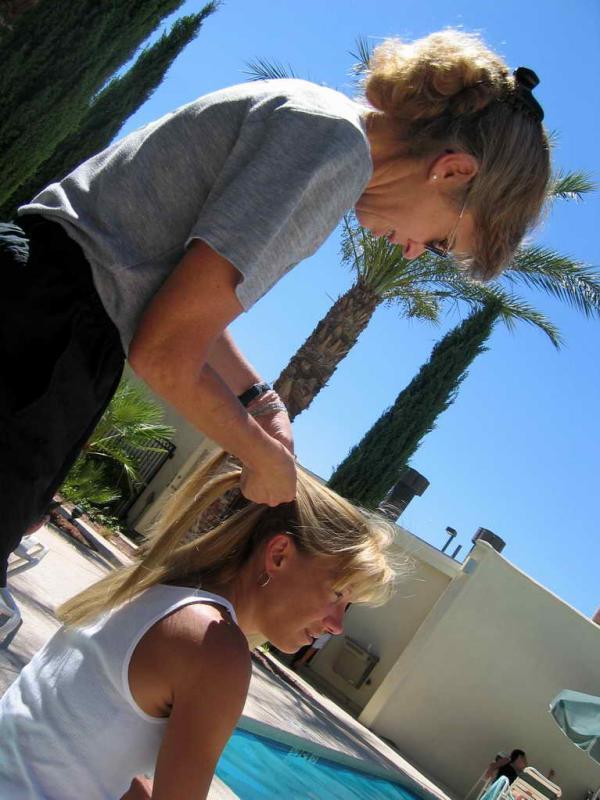 Bonnie the hair stylist