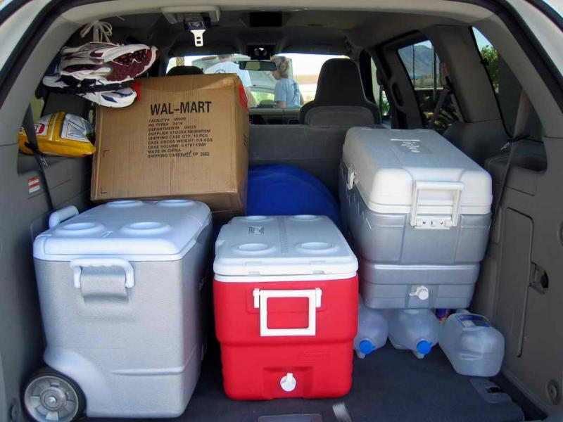 A total of 5 coolers