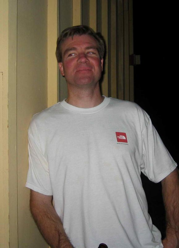 Husband David Bliss - Badwater crew chief