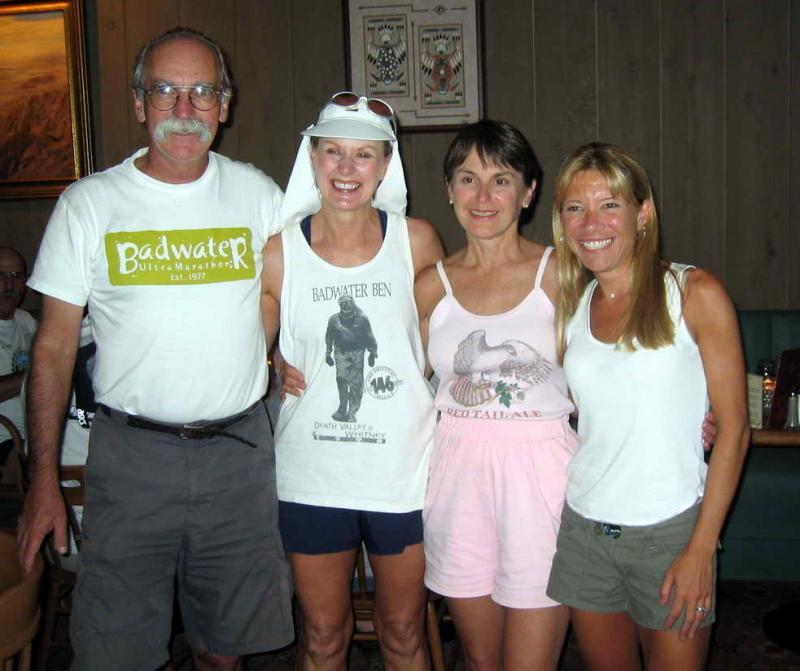 Richard Benyo, Denise Jones, Rhonda Provost, me