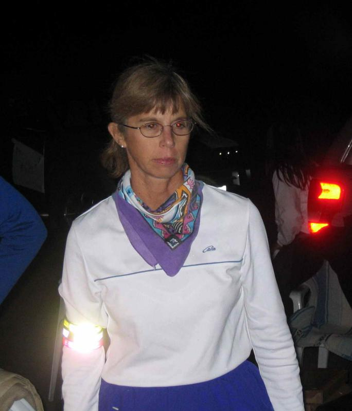 Bonnie, likely thinking of her own Badwater finish the year before.
