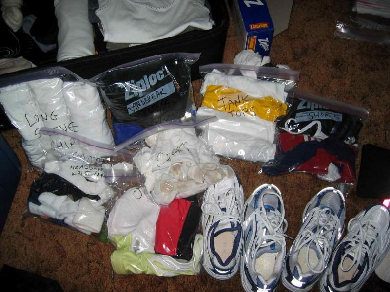Packing for Badwater