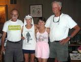 Badwater legends: Richard Benyo, Denise Jones, Rhonda Provost, Ben Jones