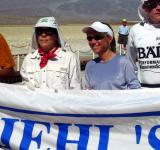 Jody Lynn Reicher (Badwater veteran) and me