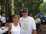 I ramped up my anemic weekly mileage when David and I ran 70 miles of the Western States trail over Memorial Day weekend