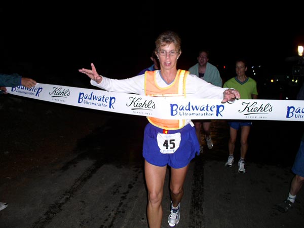 Bonnie Buschs Badwater  advice was indispensible