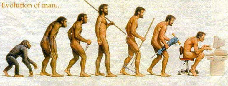I always wonder, Is this really the evolutionary end?