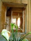 Squint hole, St. Mary, Isle abbots