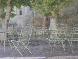 Street Cafe at Gordes