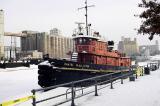 Tug Boat in the winter