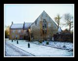The Treasurers' House on a frosty morning, Martock