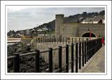 Railings and walkway, Lyme Regis