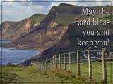 'May the Lord bless you' slide from the West Bay series