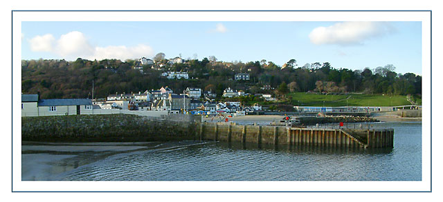 The harbour end of Lyme Regis (1601)