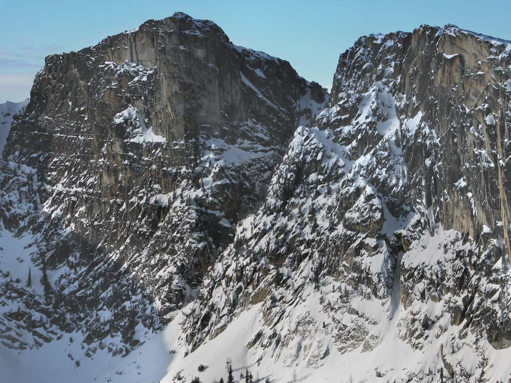 Bauerman Ridge, NW End <br>(BauermanRidge021505-06adj.jpg)