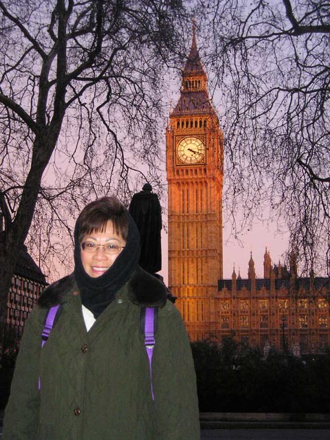 Big Ben the Clock in London England