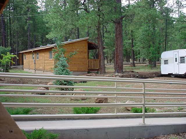 cabins at Mormon lake