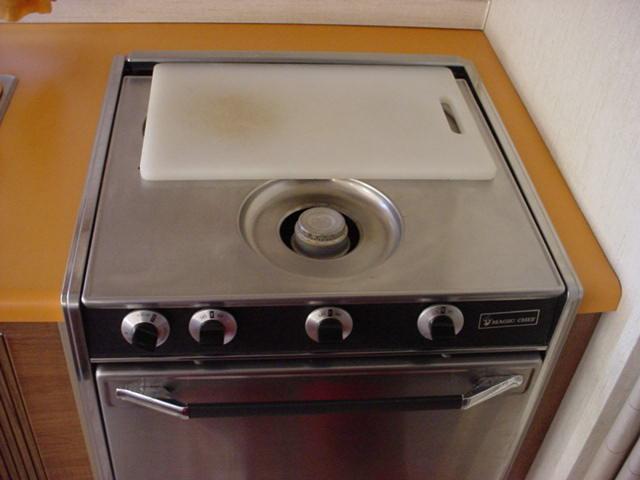 kitchen stove<br>and propane oven