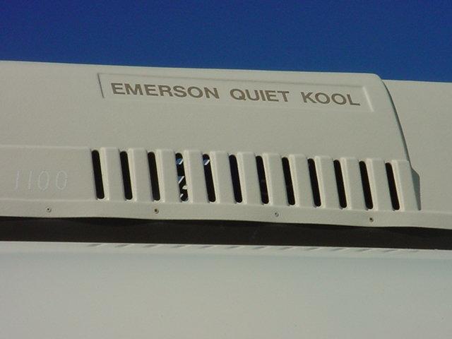 Emerson Quite Kool <br>roof top refrigeration unit