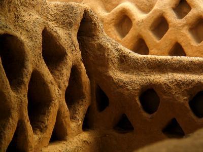 Textures of Chan Chan, Trujillo, Peru, 2003