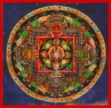 Avalokiteshvara - (11 faces, 8 hands) Mandala