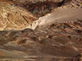 Solitary hiker Desolation Canyon