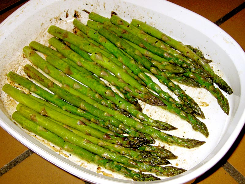 asparagus done (detailed recipe)