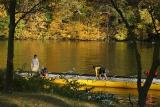 Rowing on the Huron River