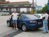 Chinese Mazda 6 and Tollbooth