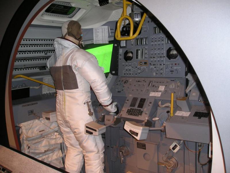 LEM cockpit simulator