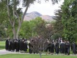 2003 summer graduation, Idaho State University, Pocatello, Idaho