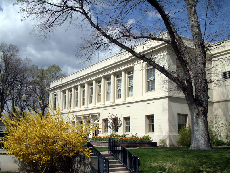 Frazier Hall, former home of the Theater Department, Idaho State University, Pocatello, Idaho