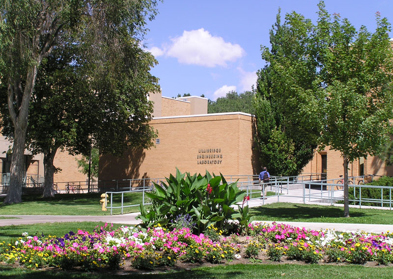 Lillibridge Engineering Lab, College of Engineering, Idaho State University, Pocatello, Idaho