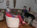 quality time with Lynn Ades, Kaitlin