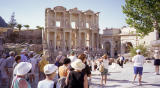 The library in ancient Ephesus