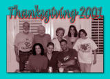 Thanksgiving 2001 with Ron and Jill