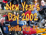 New Years Day 2002 ride to Tortilla Flat