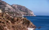 Mediterranean Coast east of Malaga, Spain