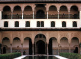 Court of the Myrtle Trees, The Alhambra, Granada, Spain