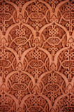 Plaster designs in a wall of the Alhambra