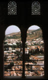 Granada from the Hall of Ambassadors
