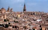 Telephoto of Toledo, Spain