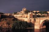 Puente San Martin at Sunset, Toledo, Spain