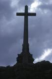 The Cross above Valle de los Caidos, Spain