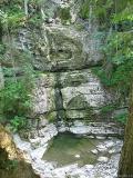 Weg Wasserfall