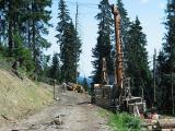 Heuerg - der Höhenweg ist weg - Lawinenverbauung